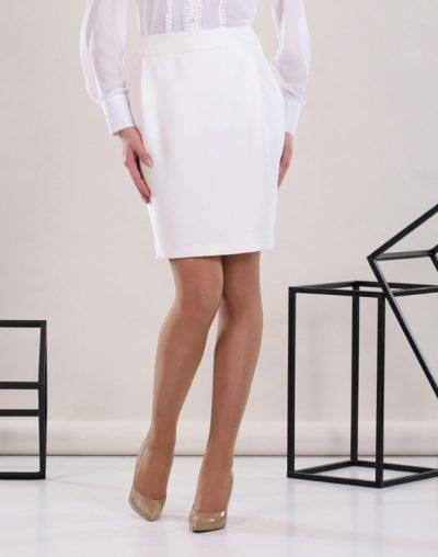 White Classic Skirt