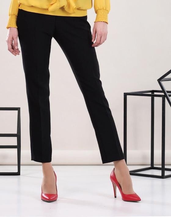 Slim Black Trousers