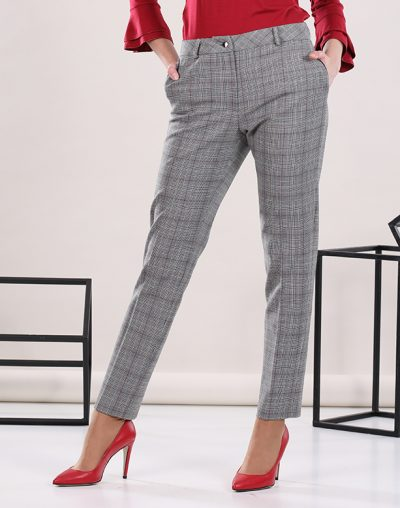 Glencheck Slim Trousers
